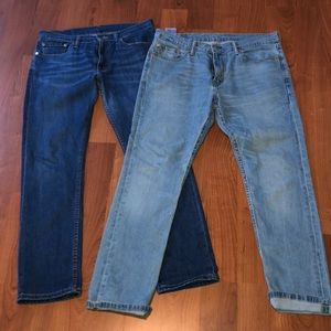 Lof of 511 Levi's Slim Jeans